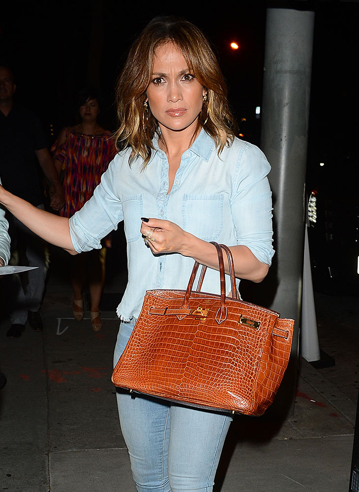 Jennifer Lopez Hermes Crocodile Birkin - Is Hermes Birkin Bag Worth the Price