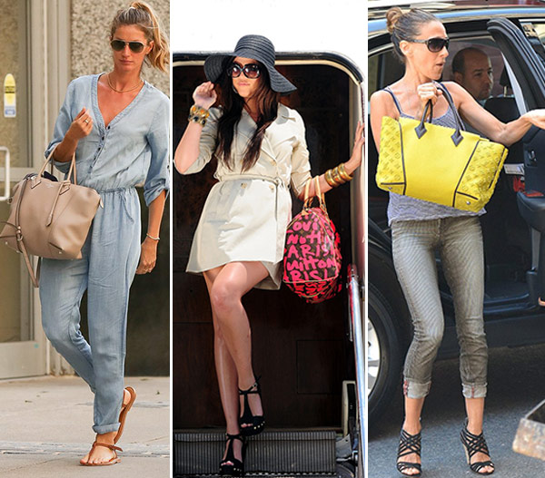 15 Hot Celebs Sporting Their Louis Vuitton Bags - How to Hold Your Handbag Like a Celebrity