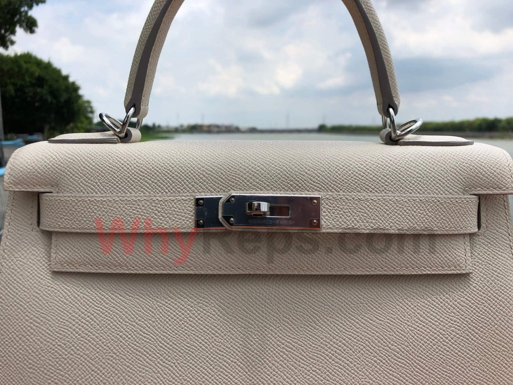 HardWare 1 1024x768 - Hermes Kelly 28 Bag Replica Review (Craie Epsom PHW)