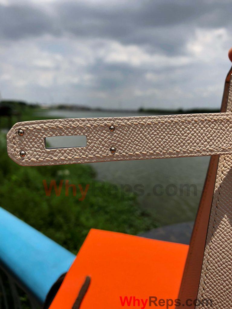 HardWare 2 768x1024 - Hermes Kelly 28 Bag Replica Review (Craie Epsom PHW)