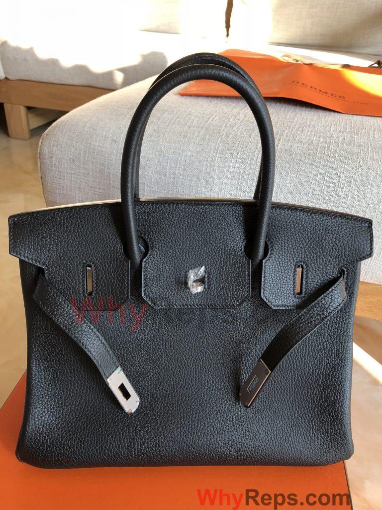IMG 1920 768x1024 - Hermes Birkin Replica Bag Review (Birkin 30 Black Togo PHW)