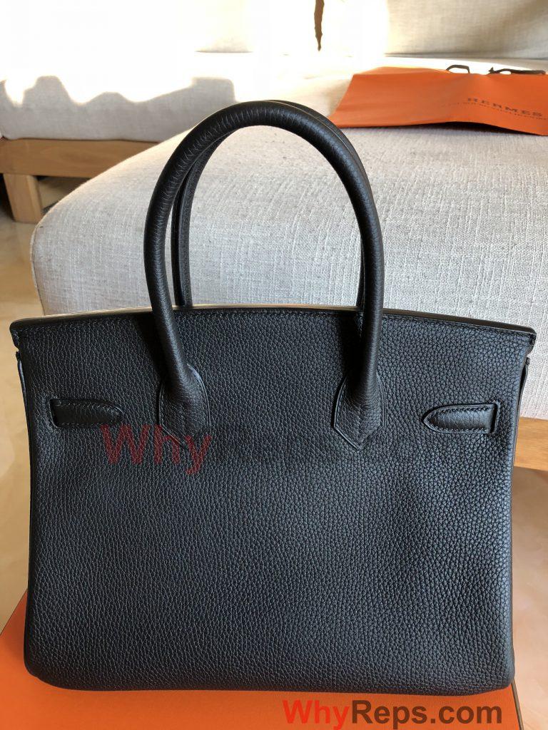 IMG 1927 768x1024 - Hermes Birkin Replica Bag Review (Birkin 30 Black Togo PHW)