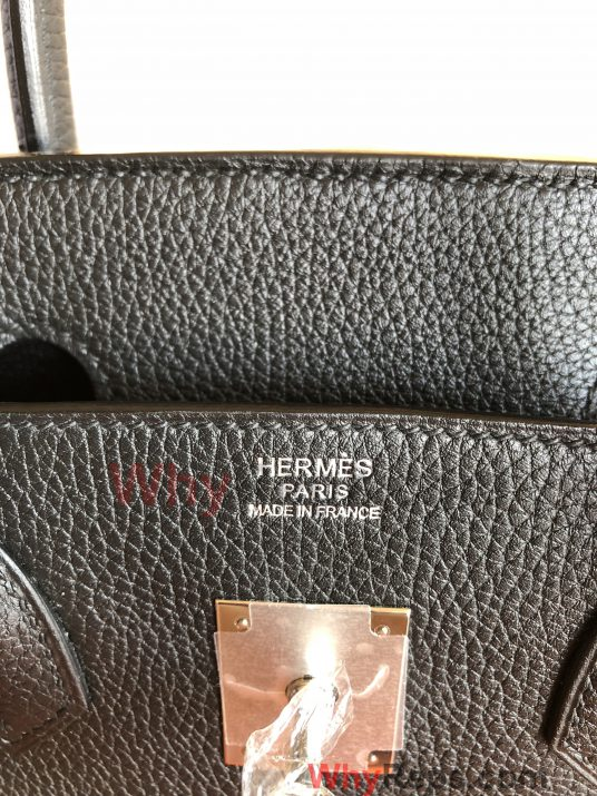 IMG 1956 536x715 - Hermes Birkin Replica Bag Review (Birkin 30 Black Togo PHW)