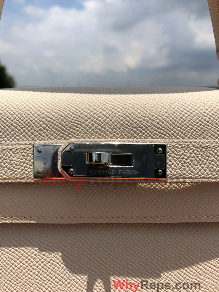 LOGO 1 768x1024 - Hermes Kelly 28 Bag Replica Review (Craie Epsom PHW)