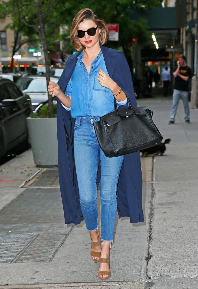 Miranda Kerr Black Hermes Birkin Bag 3 - 10 Celebrities Who Wear Hermes Birkin Bags