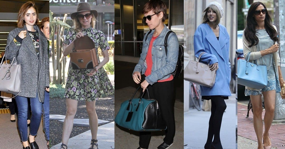 Prada Celebrity Bags - Is the Replica Handbags Industry Really that Bad?