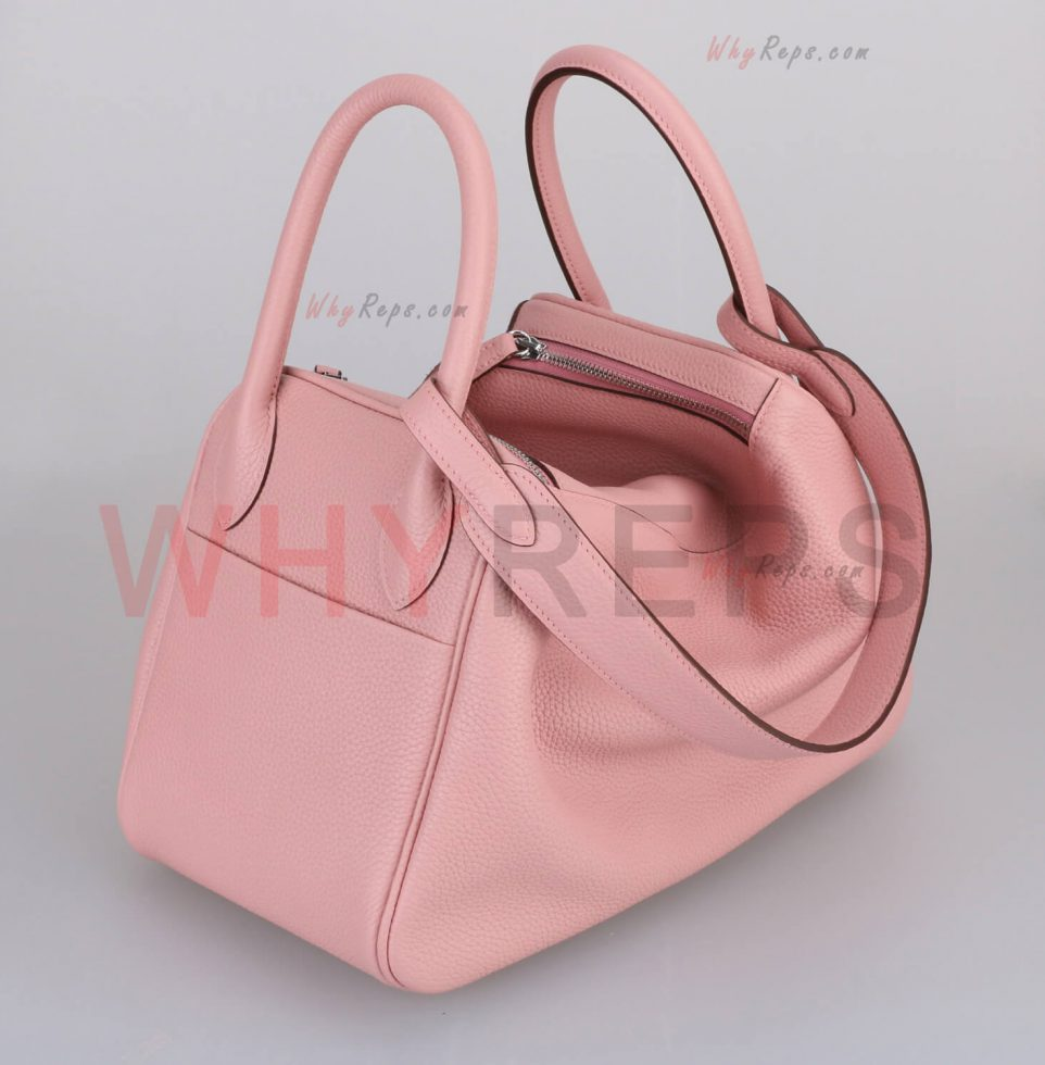 Hermes Bag Lindy Rose Sakura 3Q
