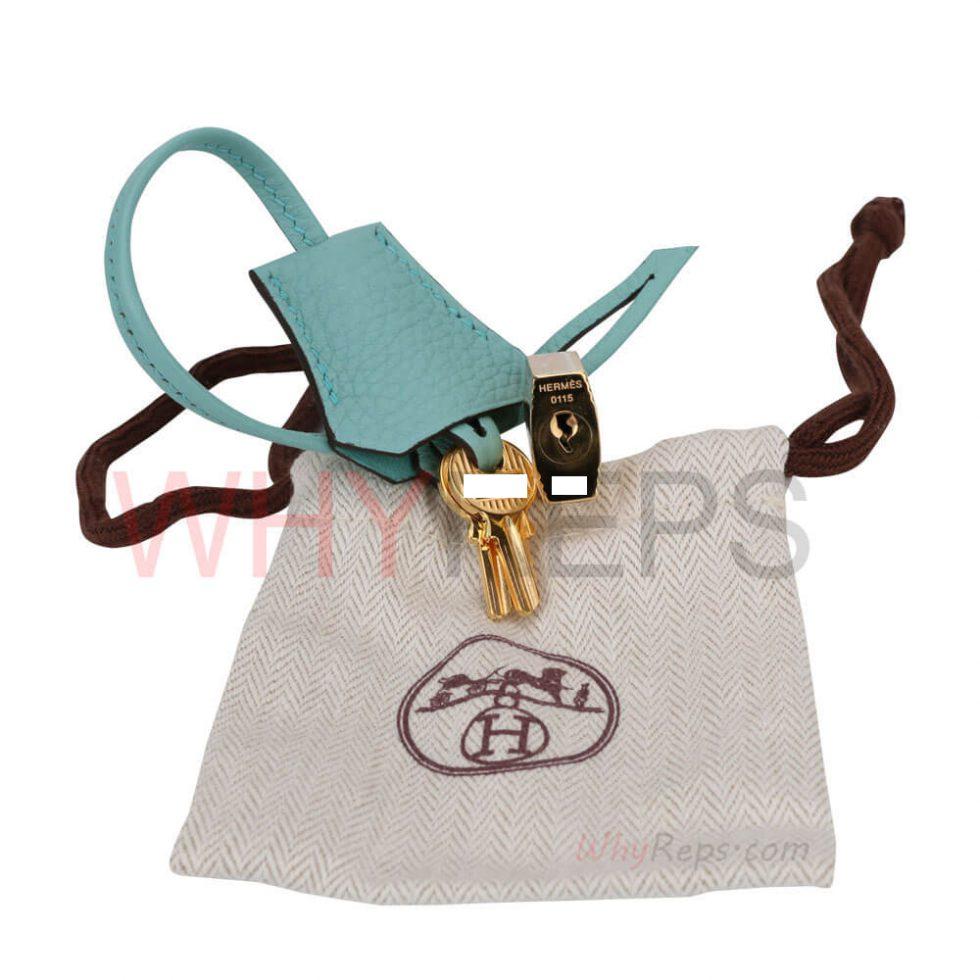 Hermes Padlock & keys